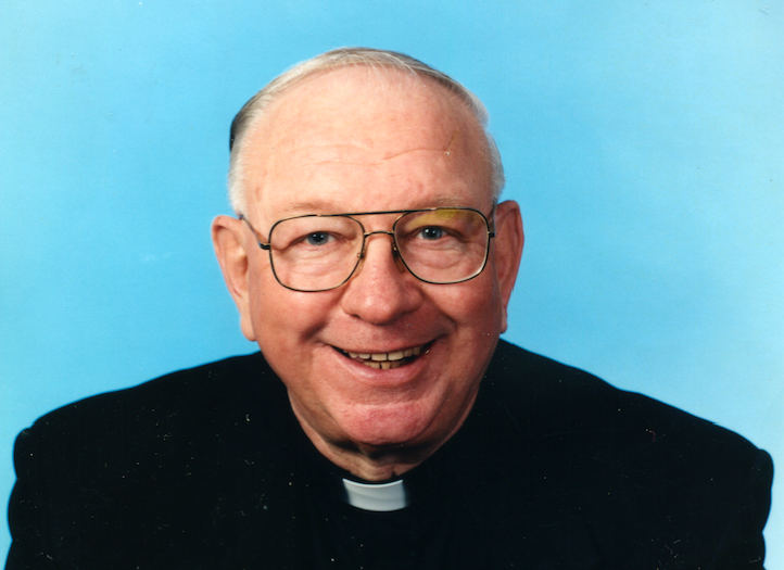 Father John E. Fetcho, 'a sermon walking,' remembered