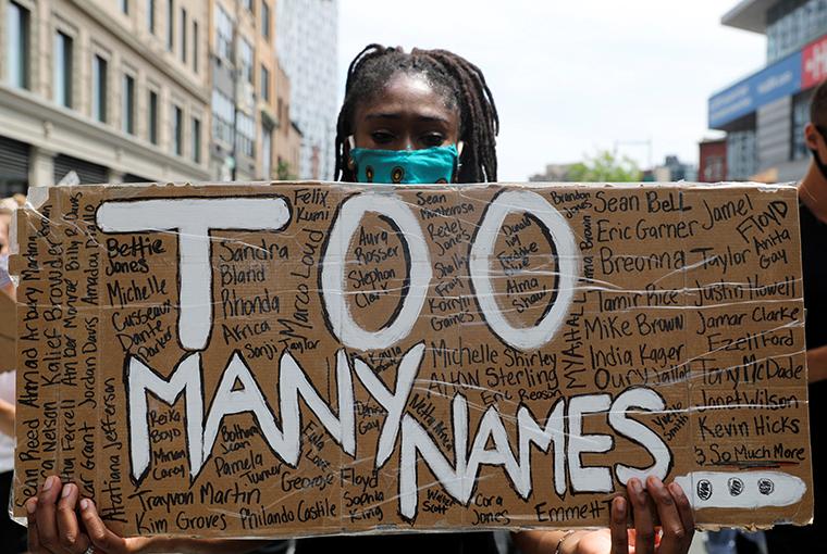 Panelists discuss 'virus' of racism, praise protesters demanding justice