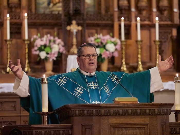 Bishop celebrates first Mass at St. Mary's Oratory