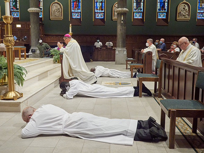 New deacons 'realize the dream of their vocation'