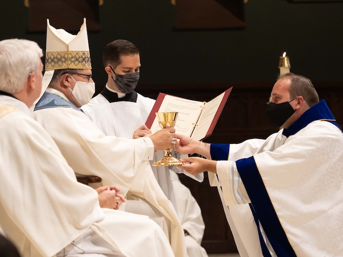 Father Malachi Clark ordained to the priesthood