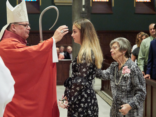 Marissa confirmation - 'This is home': Amid roller coaster year, Bishop Lucia is 'happy to be here'