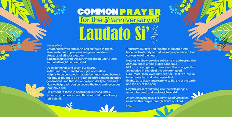 Laudato Si' Anniversary Year and the Season of Creation