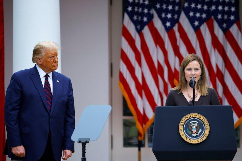 Trump announces Judge Amy Coney Barrett as U.S. Supreme Court nominee