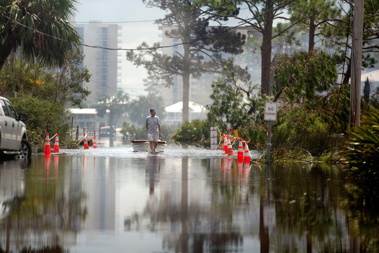 Many still recovering from Hurricane Sally, as Tropical Storm Beta hits Texas