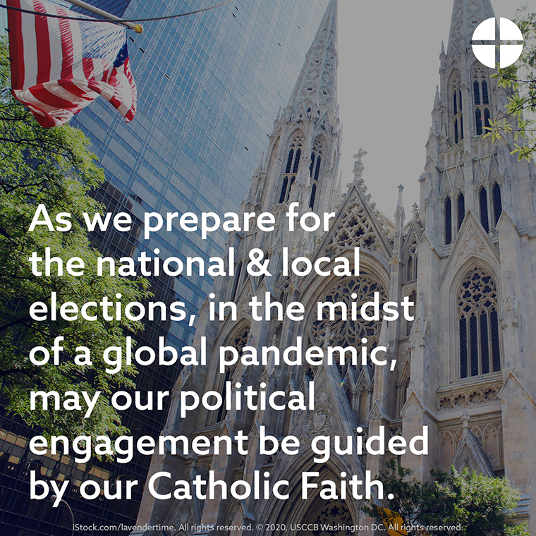 20201020T1245 USCCB ELECTION NOVENA 1007511 - USCCB offers 'Election Novena'  as way to prepare for Nov. 3, pray for nation