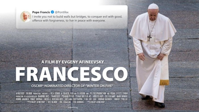 In new film, Pope Francis affirms gay people 'are children of God,' expresses support for legalizing civil unions
