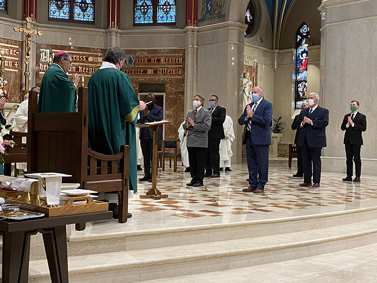 Ten men admitted to candidacy for the diaconate