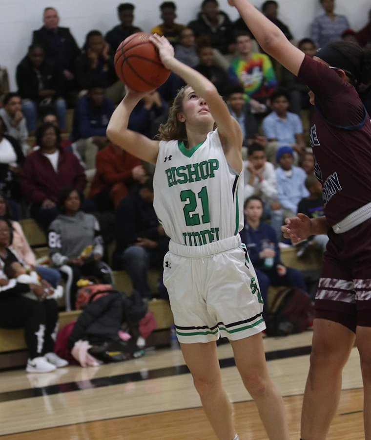 Kaitlyn Kibling hoops 2 - Ludden softball player commits to big leagues of college sports