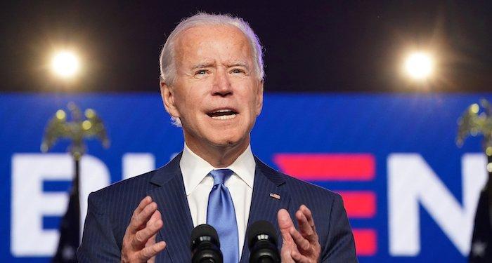 News organizations project Biden win; second Catholic elected U.S. president