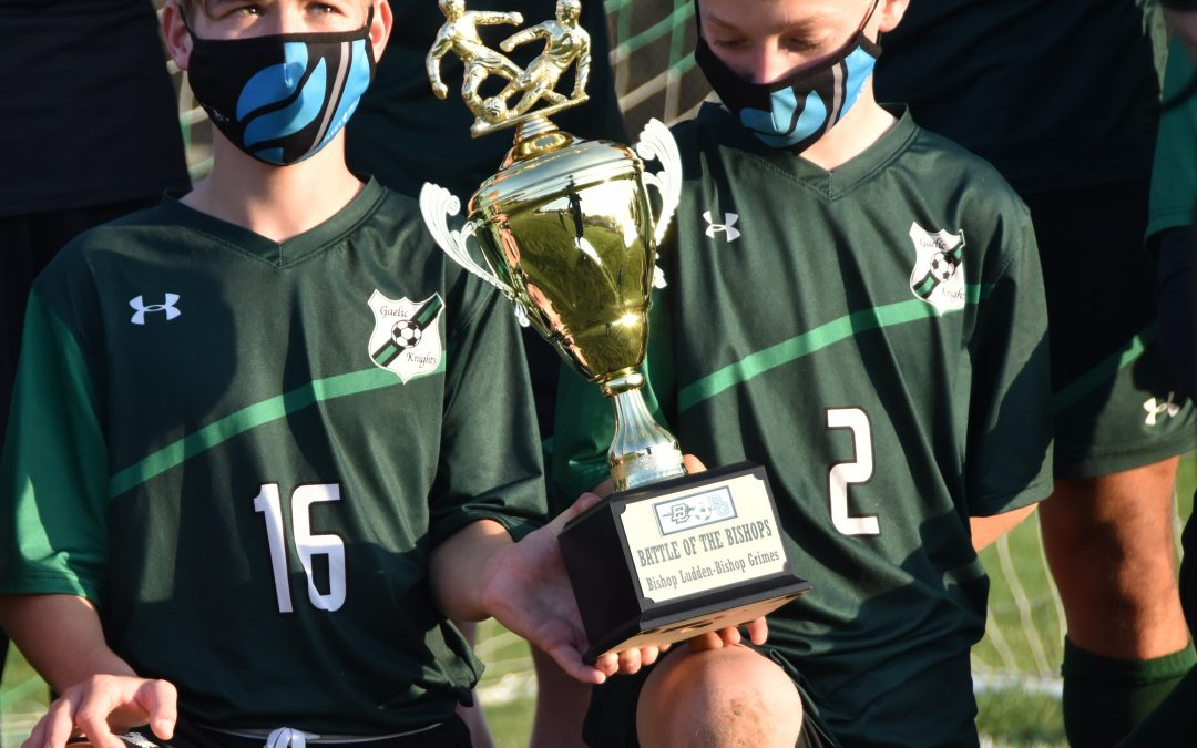 1-2-3-4, how to play without a flaw: Gaelic Knight Gaughan scores all the goals as Ludden grabs trophy