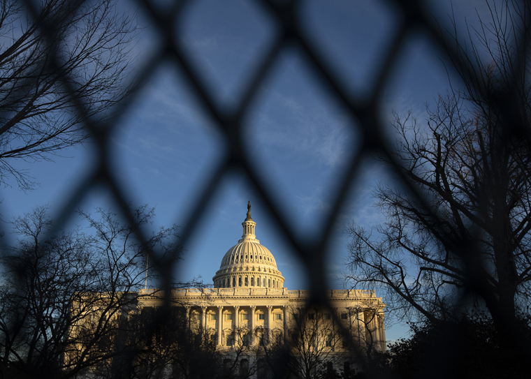 Shock and prayers follow deadly riot at Capitol