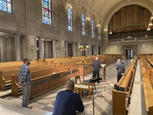 IMG 0953 300x225 - In new video series, seminarians 'bring' their chapel to the people