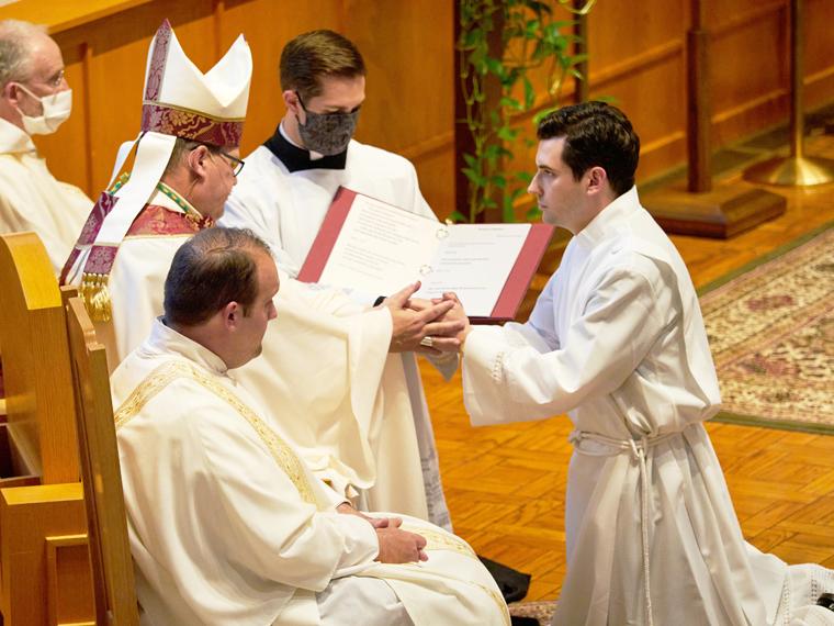 Alumnus credits Catholic education on journey toward the priesthood