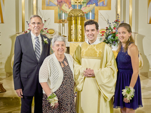 6192027 1 adjusted - Alumnus credits Catholic education on journey toward the priesthood