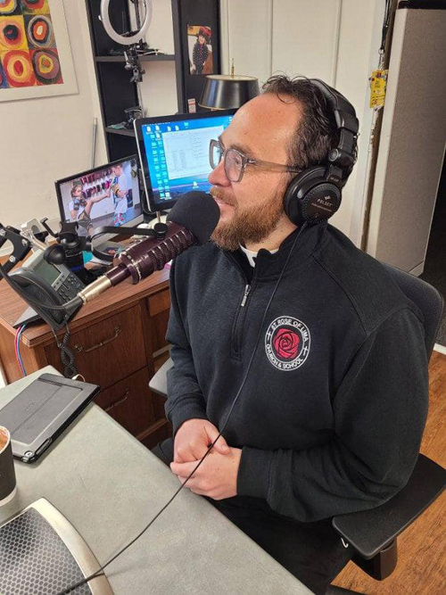 Father Chris Celentano - New 'podcast from the other side of the altar' explores life and ministry of priests