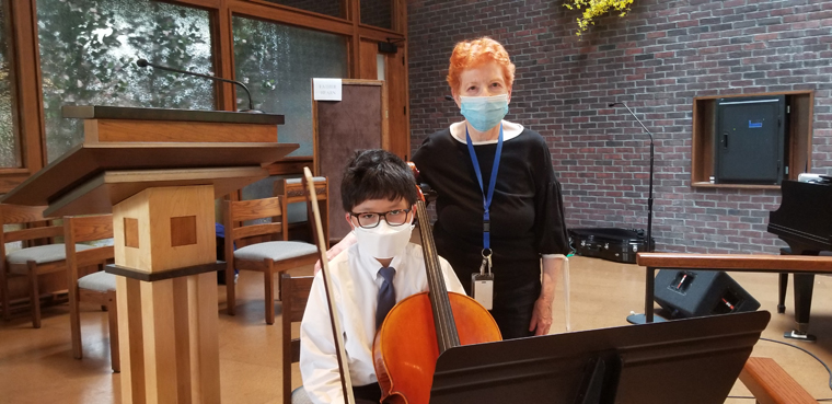 IC School cellist honored