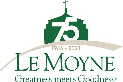 LMC 75th Logo - Le Moyne College at 75: AMDG