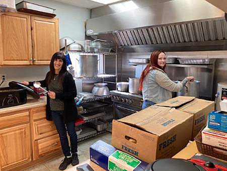 Southern Tier parish, service club team up to benefit Mom's House