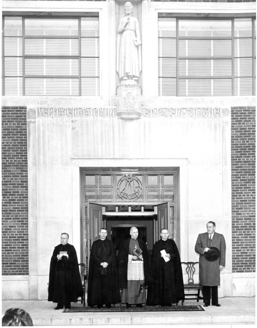 dedication 1948 - Le Moyne College at 75: AMDG