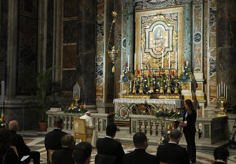 Monthlong global rosary begins