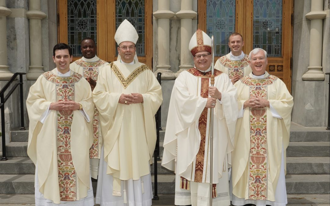 'To continue the mission and the service of Jesus Christ': Four ordained to the priesthood