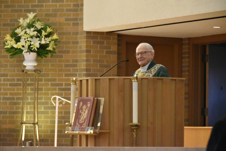 Msgr. Yennock's 71 years of service celebrated  at Mass of Thanksgiving