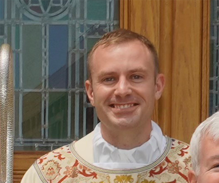 father foley - 'To continue the mission and  the service of Jesus Christ'