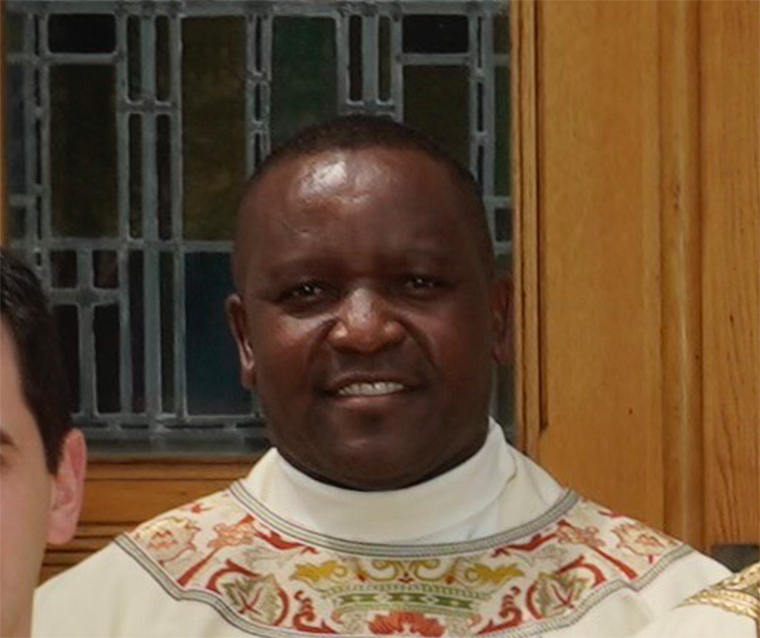 father oduor - 'To continue the mission and  the service of Jesus Christ'