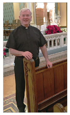 fr caughey - Four to be ordained to the priesthood June 5