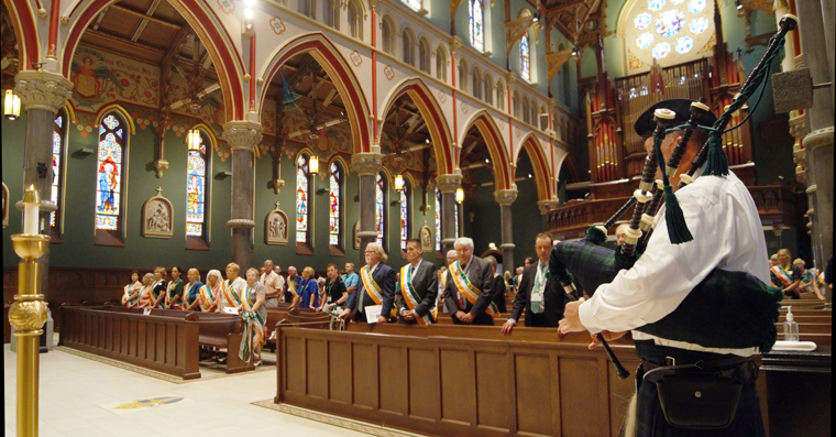 Hibernians Open State Convention with Mass at Syracuse Cathedral July 7