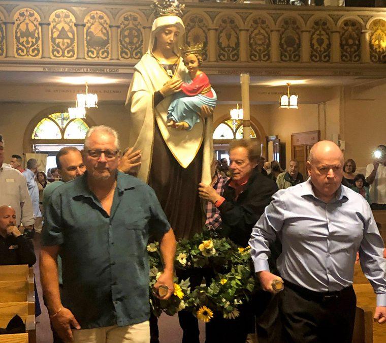 St. Mary of Mount Carmel/Blessed Sacrament celebrates feast day, parish anniversary