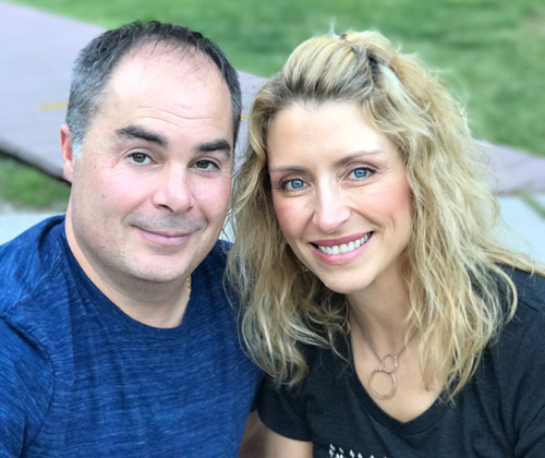 Todd and Amy Caputo - Cathedral's new focus: 'See the Good'