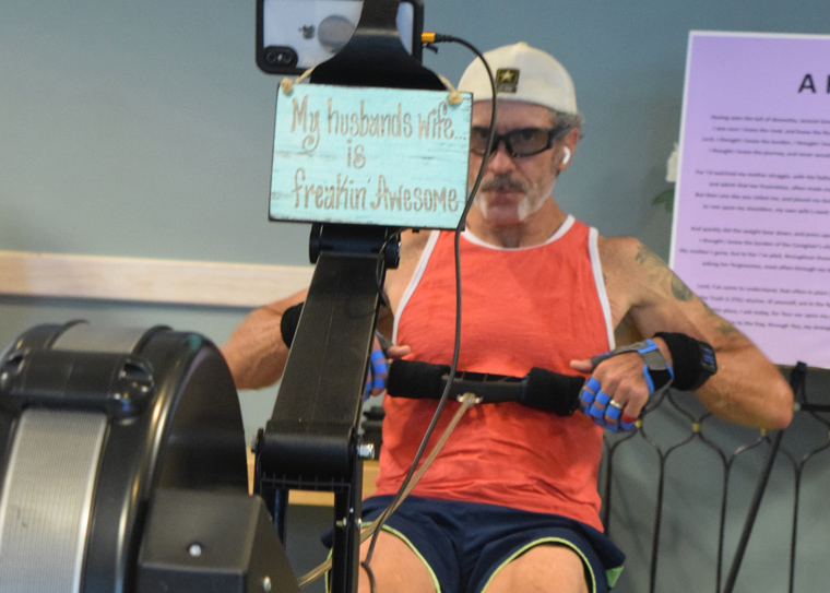 Virginia man rows to raise awareness, funds for Alzheimer's caregivers