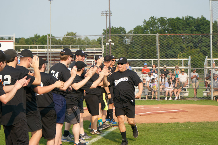 Annual vocations softball game is a hit