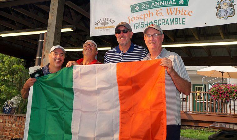 Irish Catholic fraternity's golf event fuels CNY food pantries