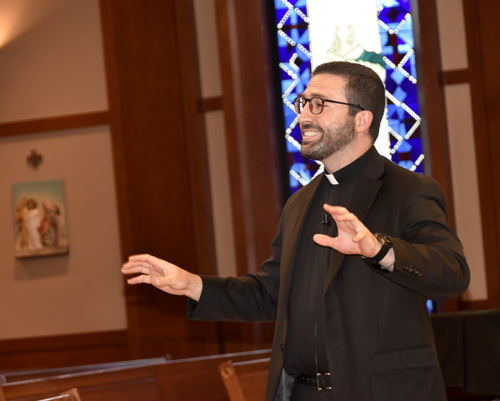 Father Jason Hage - Bishop: See you in school