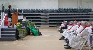 President LaMura at Spirit Mass 300x164 - President LaMura at Spirit Mass