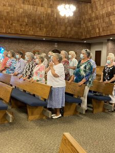 Sister Rose s fellow nuns at Mass 225x300 - Sister Rose_s fellow nuns at Mass