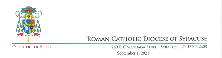 letterhead - A Catechetical Sunday message from Bishop Douglas Lucia