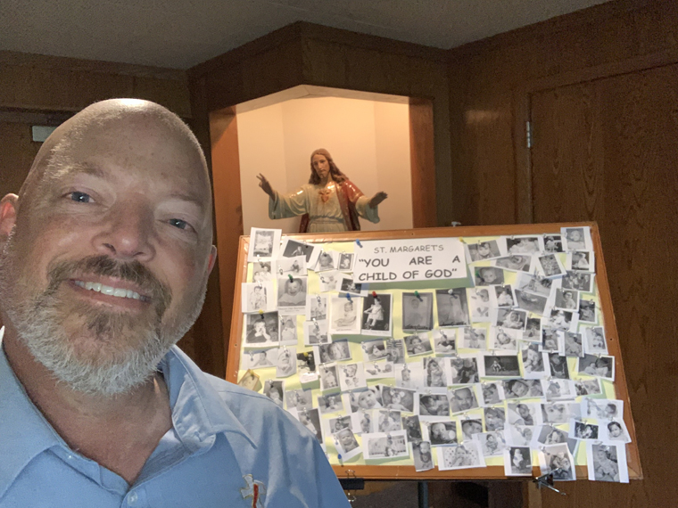 Baby pictures remind St. Margaret's flock they are children of God