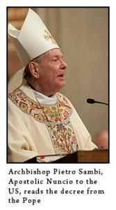 BC nuncio 167x300 1 - Our new shepherd