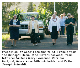 Cope Procession - A good and holy cause