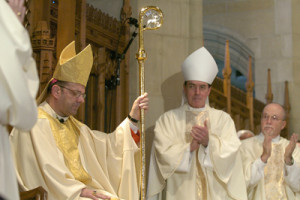 Installation of Cunningham 300x200 1 - How is a Catholic bishop appointed?