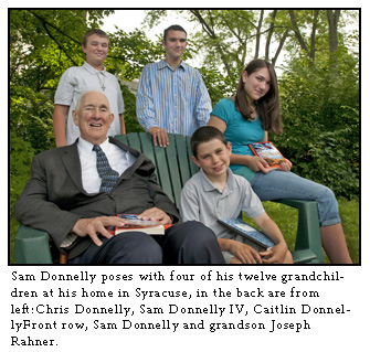Sam Donnelly grandchildren - God in meter and rhyme