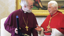 Vatican 260x146 - 2006 FILE PHOTO OF ANGLICAN ARCHBISHOP OF CANTERBURY, POPE BENEDICT XVI