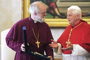 Vatican 300x201 - 2006 FILE PHOTO OF ANGLICAN ARCHBISHOP OF CANTERBURY, POPE BENEDICT XVI